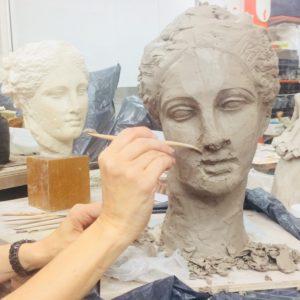 Cours de sculpture