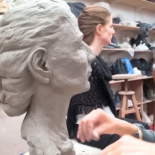 Cours de sculpture à Paris