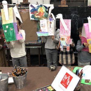 cours art plastique, activité manuelle enfant, activité extra scolaire enfant, atelier créatif