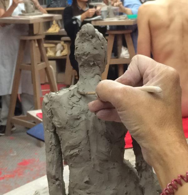 cours de modelage et de dessin modele vivant à paris