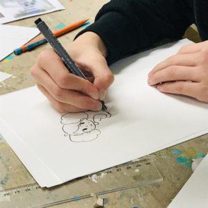 cours de dessin manga pour enfant adolescents couture atelier créatif dessin manga mangaka