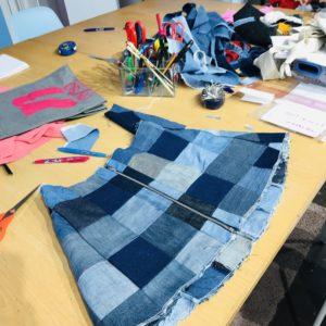 cours de couture pour enfant adolescents couture atelier créatif stylisme