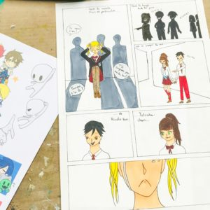 cours de dessin manga mangaka BD dessin manga