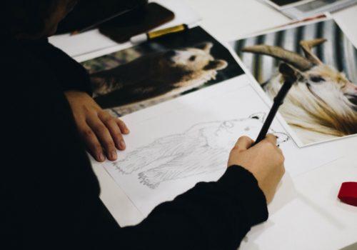 cours de dessin stage de dessin stage du dimanche dessin paris atelier créatif dessin artistique fusain peinture encre pastel