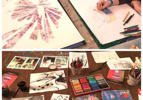 Atelier autour d'une expo enfants paris