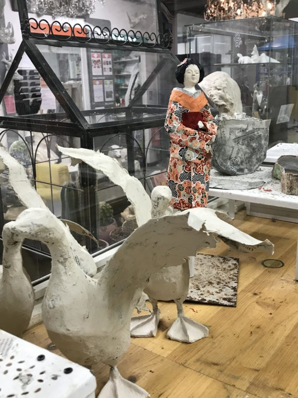 cours de papier maché sculpture en papier maché atelier créatif recyclage papier