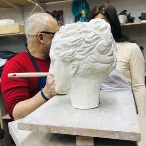cours de sculpture et modelage