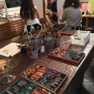 cours de dessin pour enfant adolescents dessin appliqué atelier créatif
