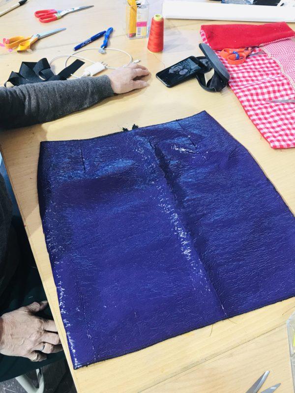 cours de couture création d'un sac à main DIY couture paris